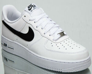 Nike Air Force 1 '07 AN20 Men's White Black Athletic Lifestyle Sneakers Shoes