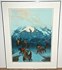 Earl Biss Signed Limited Edition Lithograph