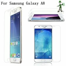 2 x Genuine Tempered Glass 9H Screen Protector For Samsung Galaxy A8 (2015)