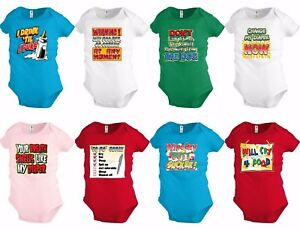 Funny Baby shirt Bodysuit Infant toddler Creeper Humor baby Shower party Gift