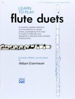 Learn to Play Flute Duets Learn to Play Paperback