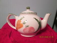 Midwest of Cannon Falls 1 1/2 qt. Enamelware Ceramic Teapot Vegetables