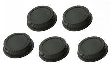 """5 x Rear Lens Cover Caps for Canon DSLR SLR Lens """"US Shipping"""""""