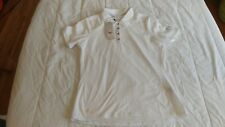 1 NWT ADIDAS WOMEN'S GOLF TOP, SIZE: SMALL, COLOR: WHITE  ****B201