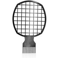 Afro Twist Comb Portable Deux-En-Un Peigne à Cheveux pour Boucles Naturelle T2C9
