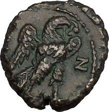 PROBUS 281AD Potin Tetradrachm Alexandria Egypt Eagle Wreath Roman Coin i45072