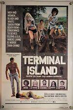 TERMINAL ISLAND FF ORIG 1SH MOVIE POSTER PHYLLIS DAVIS TOM SELLECK (1973)