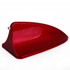 Red Shark Fin Style Roof Mount Dummy Aerial Antenna Decor For Honda Accord Civic