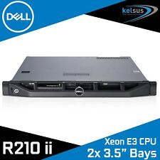 "Dell PowerEdge R210 II Rack Server Quad Core Xeon E3-1225 v2 16GB RAM 3.5"" Bay"