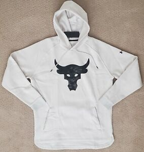 NEW Under Armour PROJECT ROCK Charged Cotton Brahma Hoodie Men Sz:XL 1362104-110