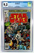 STAR WARS #2 CGC 9.2 NM- White Pages 1st Obi Wan Kenobi Han Solo Chewbacca Jabba