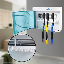 UV Toothbrush Sterilizer Sanitizer Cleaner Holder Home Health Dental Oral Care