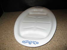 CORNING WARE P-19 Broil and Serve Platter  Blue Cornflower  EXCELLENT New If use