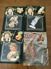 Vintage Make Your Own Pin By Daisy Kingdom Christmas / Victorian Pins Lot Of 4