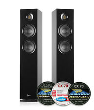 Saxx coolSOUND CX70 Standlautsprecher schwarz/Paarpreis