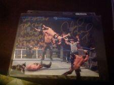 Chavo Guerrero Jr. Full Inscription Autographed Glossy 8x10 TNA WWE WWF