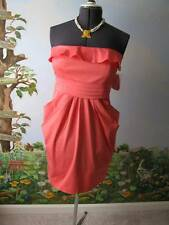 Jessica Simpson Dress Cocktail Strapless Pink Dress Size 12 New