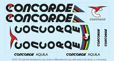 Concorde Bicycle Decals-Transfers-Stickers #2