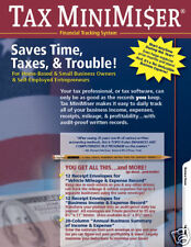 Tax MiniMiser Financial Tracking System, Home Business