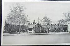 Colorado Springs Village Inn Coffee Shop Printed Photo Postcard 1940s