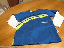 Boys Youth Ecko UNLTD unlimited 6 long sleeve tech blue tshirt NEW 44554076-44f
