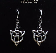 Set Pewter Jewelry Newsign.Beautiful Celtic Knot Dangling Earrings