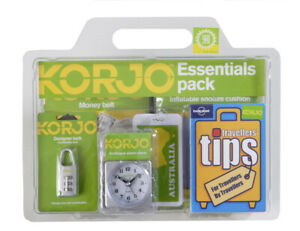 NEW Korjo Essentials Travel  Pack - A Fantastic Pack for Any Trip!