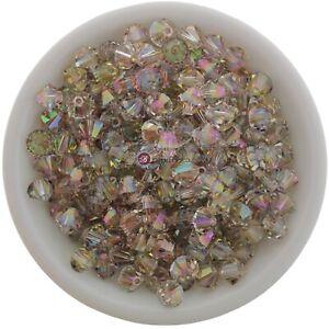 Purple Haze 3mm, 4mm, 6mm Preciosa Crystal Bicones