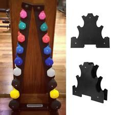 3 Tier Plastic Dumbbell Rack 120lb Storage Holder Tree Exercise Equipment Black​