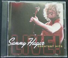 Sammy Hagar - Greatest Hits Live! CD (2002 EMI)