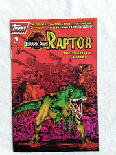 Jurassic Park: Raptor #1 (Nov 1993, Topps Comics) First Printing Fine+