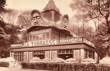 Carte PARIS Exposition Coloniale La TERRASSE Brasserie Restaurant Bière GRAFT