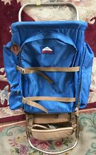VINTAGE JANSPORT EXTERNAL FRAME HIKING CAMPING BACKPACK USED