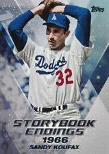 2018 Topps Update Storybook Endings #se3 Sandy Koufax