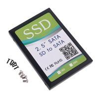 "SD/SDHC/SDXC/MMC Flash Memory Card to SATA Adapter Enclosure for 2.5"" SATA SSD"