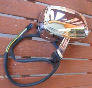 NOS 1980-1985 Oldsmobile Delta 88 Manual Power Remote Chrome Mirror