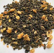 Ceylon Jasmine Flower Green Tea, Loose Leaf, Premium Quality - UK importer.