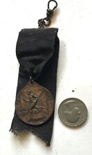 1913 NY NATIONAL GUARD ATHLETIC MEET 3rd place medal w ribbon