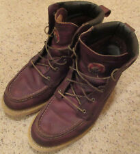 Red Wing Shoes Irish Setter Mens Work Boots Brown Leather Size 13 D 83605 EH
