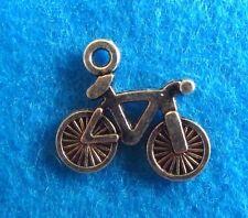 Pendant Charms Bike Charm Antique Silver Bicycle Charm Biking Charm