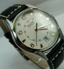 Bulova Automatic Watch Circa 1980s Swiss New Old Stock ETA 2892-A2, NOS Vintage