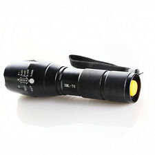 G700 X800 5000LM T6 LED Zoom Flashlight Torch Tactical Super Zoom Lamp Light USA