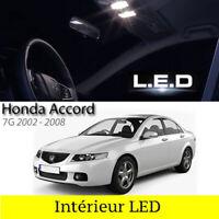 Kit ampoules à LED pour l'éclairage intérieur blanc Honda Accord 7G