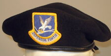 US Air Force Security Forces Crest Badge Beret for Enlisted Members 7 or 56