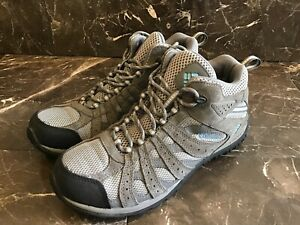 Columbia Waterproof Womens 10.5 Hiking Boots Eur 41.5 Gray Outdoor Boots Omnigrp