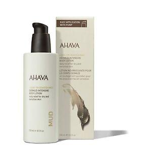 AHAVA DERMUD Intensive Body Lotion for Dry, Sensitive Skin 8.5 fl. oz New!!!