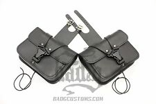 Harley DYNA Throw Under Seat Cover Bags - DTU04 BAD&G CustomS