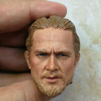 Delicate Painting Hot 1/6 Scale Sons of Anarchy Charlie Hunnam Head Sculpt