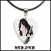 ROGER WATERS CARICATURE Guitar Pick Necklace Pendant Plectrum Pink Floyd Wall
