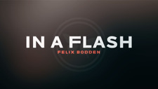 In a Flash (Red) DVD and Gimmicks by Felix Bodden from Murphy's Magic